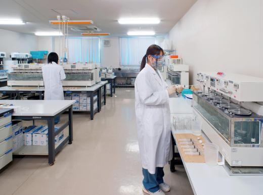 溶出試験室