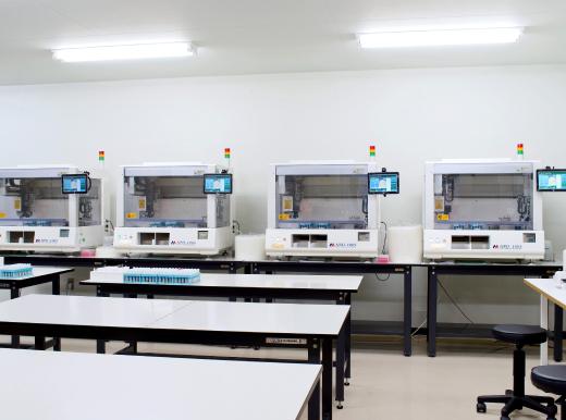 採便管用PCR前処理装置